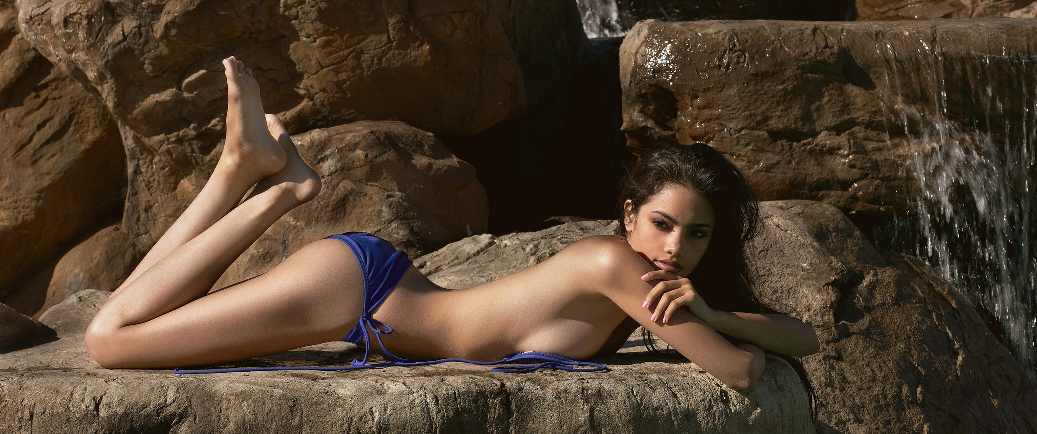 Topless Brunette 37